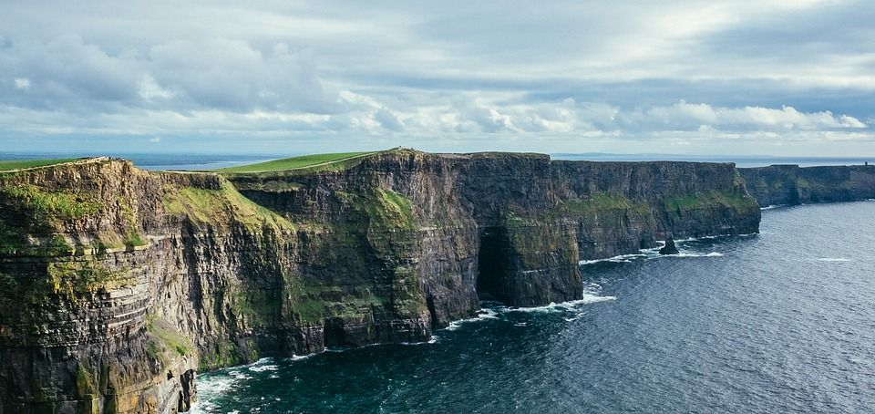 Cliffs of Moher in Ireland, Travel to Ireland