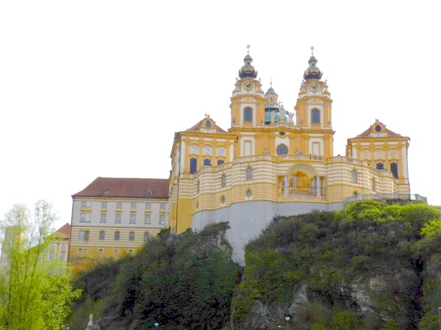 Melk Abbey in Austria, travel to Austria