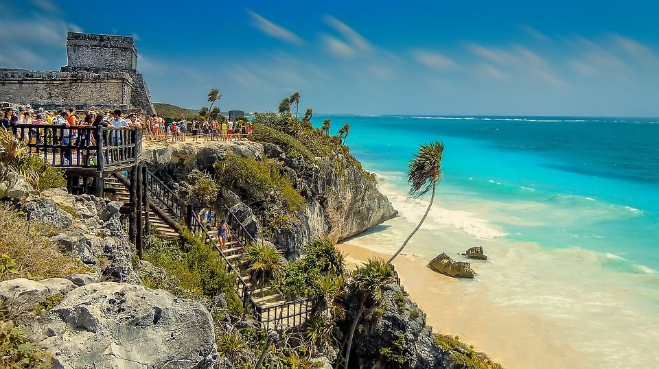Travel to Tulum, Mexico, Mayan ruins